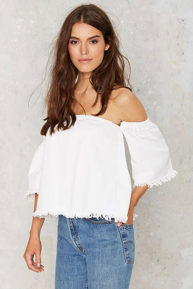 22bb62e602a Fashion Trend: Off-the-Shoulder Tops - theFashionSpot