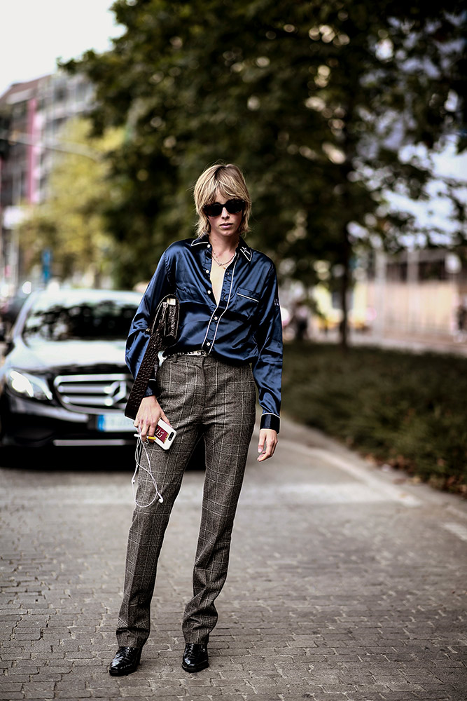 With PJs  How to Wear a Button-Down Shirt (But Make It Fashion) laid back