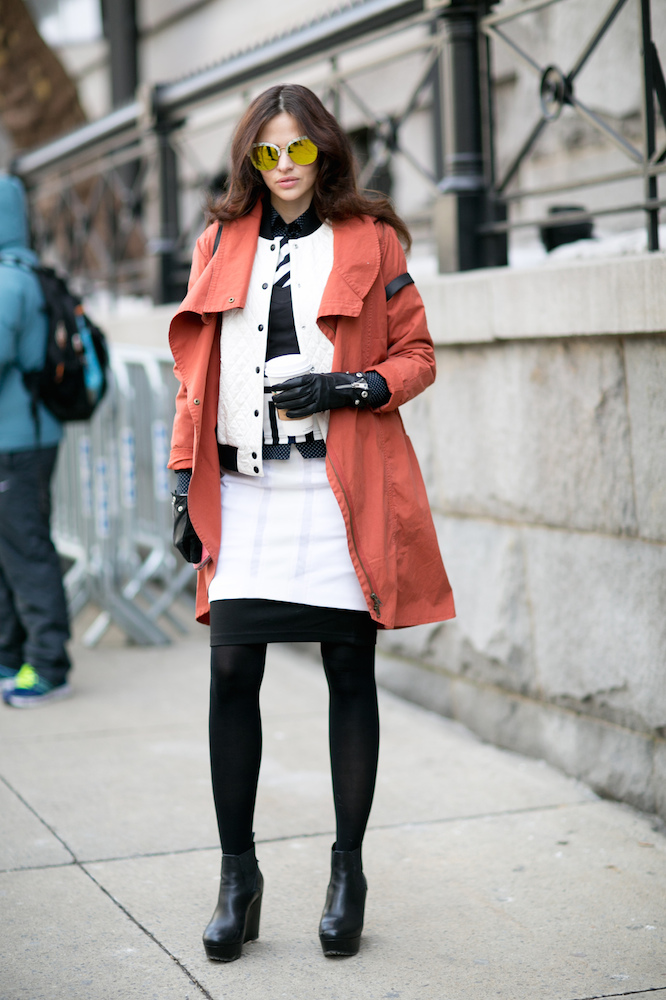 030e9929d How to Wear Black Tights With Everything - theFashionSpot