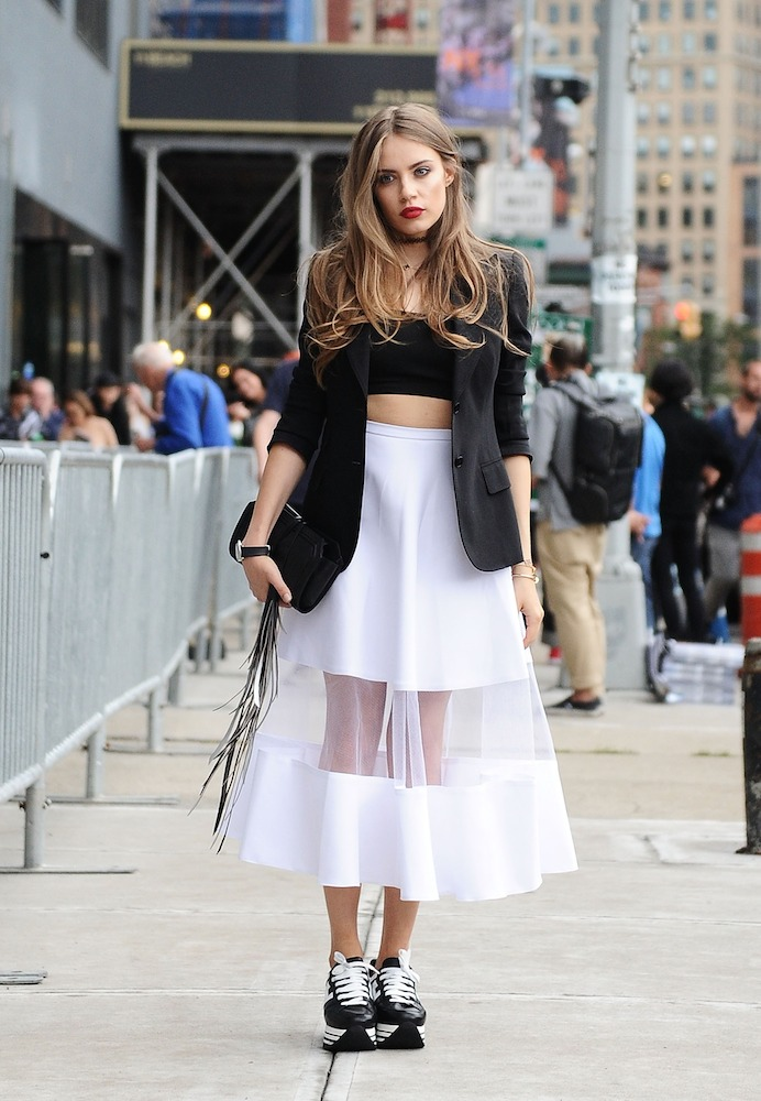 How to Wear Sneakers with Everything - theFashionSpot 3a9071379f5f