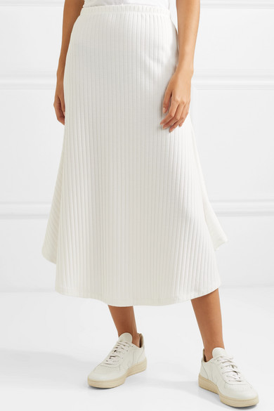 Maggie Marilyn  27 Midi Skirts You Need in Your Closet ASAP Maggie Marilyn Ribbed Knit