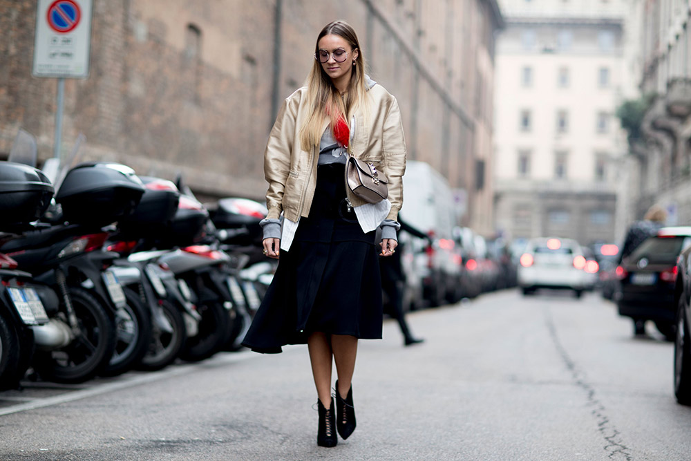Fashion milan week fall street style recommendations dress for summer in 2019