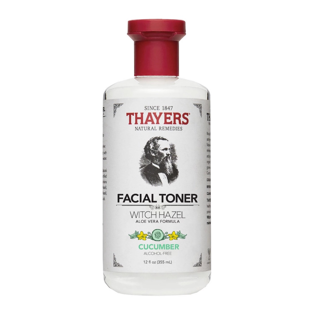 Thayers  13 Game-Changing Modern Toners That Won't Dry Out Skin thayers witch hazel alcohol free toner cucumber