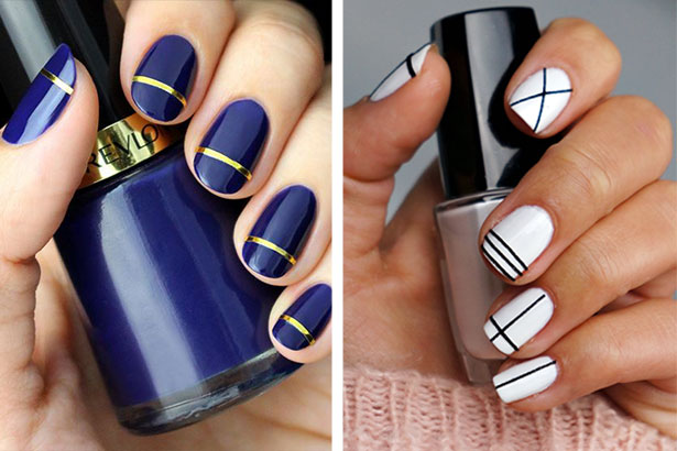Easy Diy Nail Art Ideas For Beginners Thefashionspot