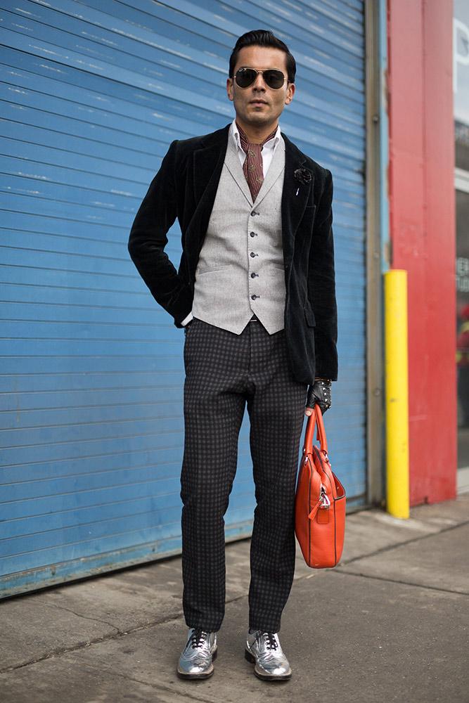 f612dd9a Street Style: New York Men's Fashion Week Fall 2016 - theFashionSpot