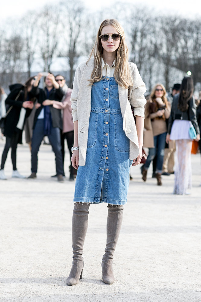 d478033d0fc How to Wear Over-the-Knee Boots This Season - theFashionSpot
