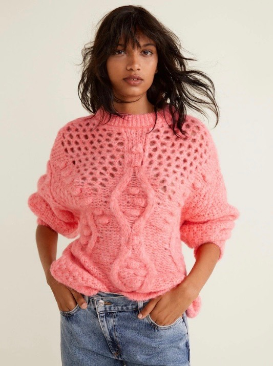66736ab968a0 15 Popcorn Sweaters and Cardigans to Snuggle Up in This Winter ...