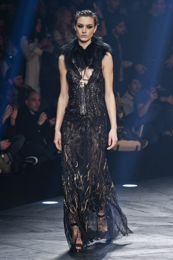 f6acedc92ce Roberto Cavalli Fall 2014 Runway Review - theFashionSpot