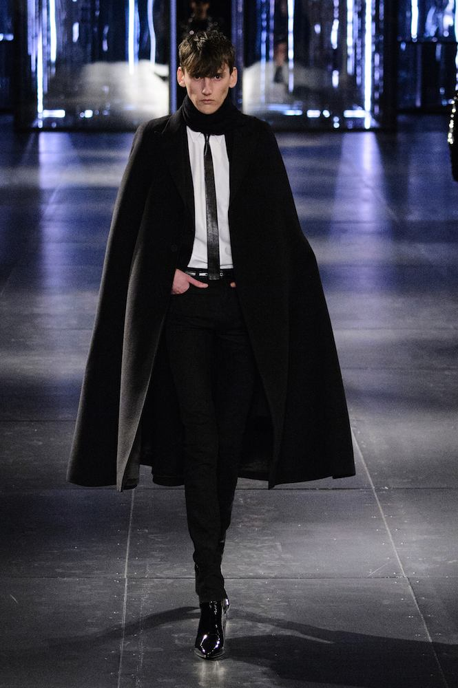 dd4fa41b6ca Saint Laurent Men's Fall 2015 Runway - theFashionSpot