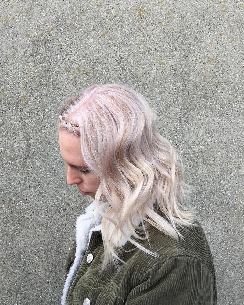 Strawberry Scandi Blond