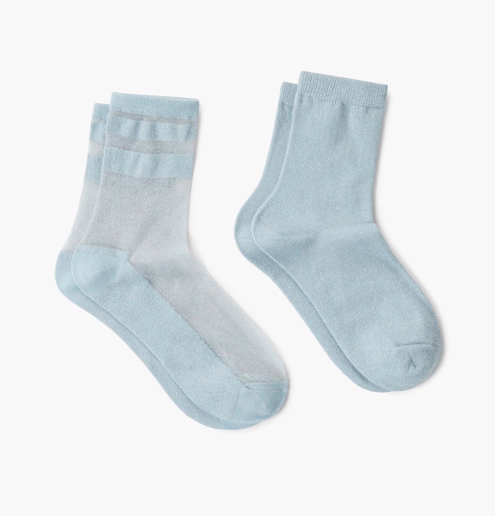 cafa50668 Sheer Socks Are a Fashion Girl Must-Have for 2018 - theFashionSpot