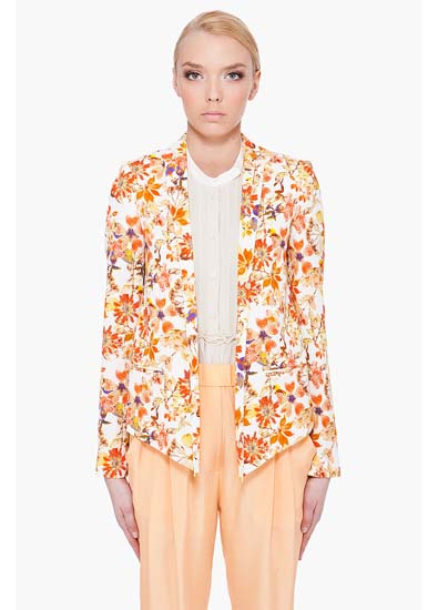 Awakening spring jackets get the floral treatment forecasting to wear for autumn in 2019