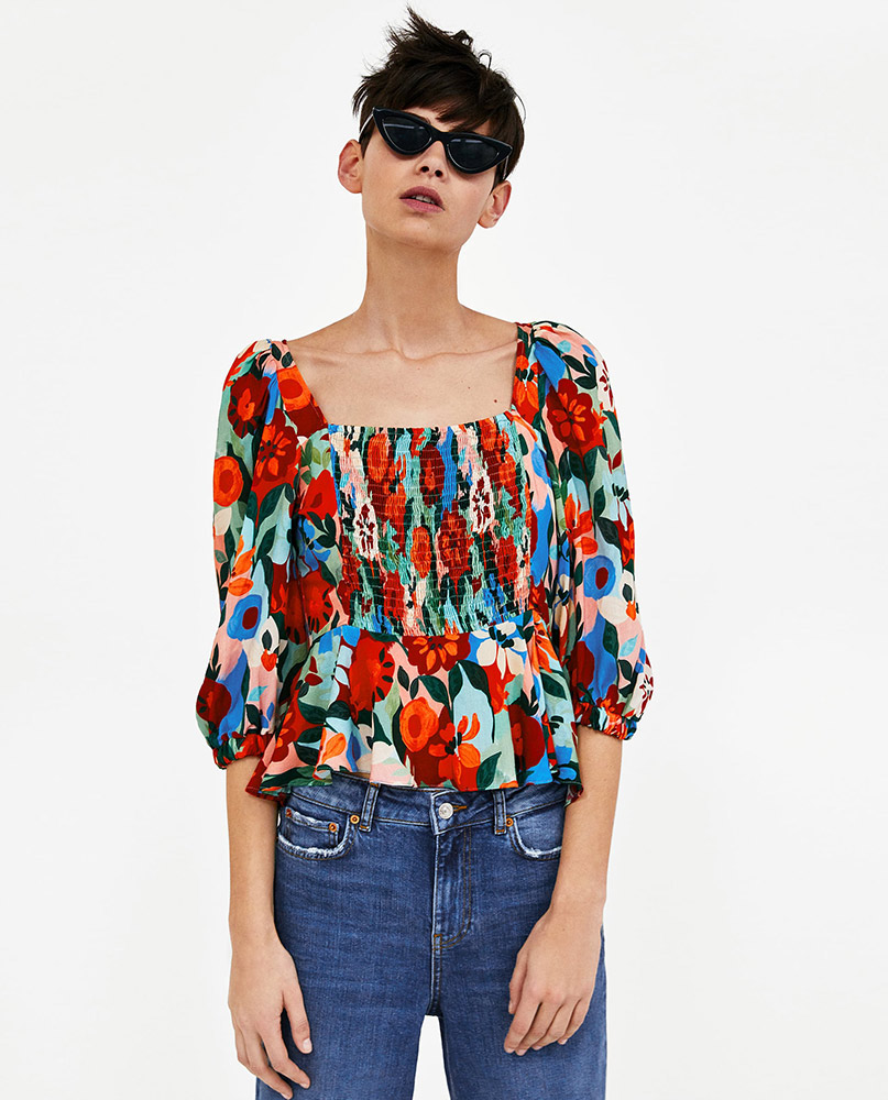 77610bbfeb9 Square-Neck Tops Are the New Off-the-Shoulder Tops - theFashionSpot