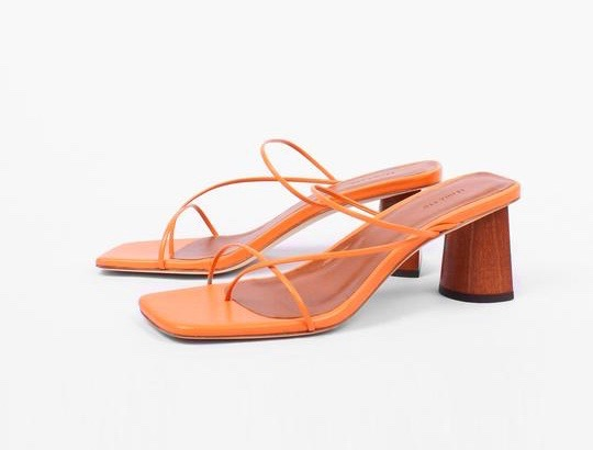 e72c8700fac2 Reach Peak 90s With These Square-Toe Sandals .