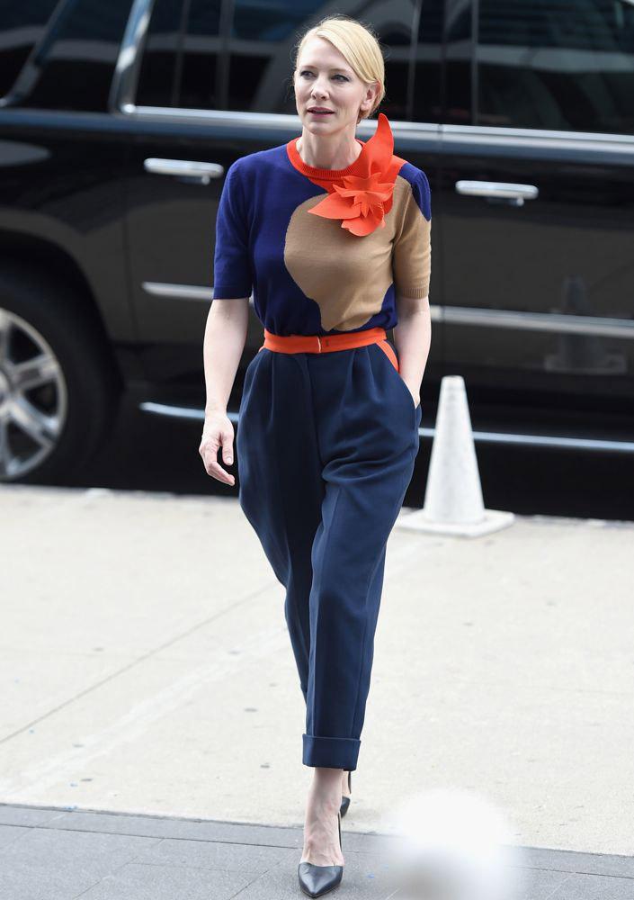 bí quyết phối đồ 'giấu tuổi' Cate Blanchett