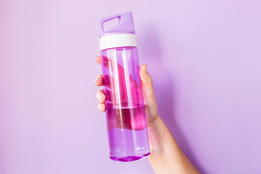Increase your water intake for healthier skin