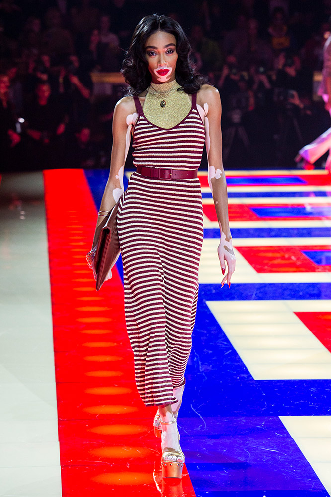 c4ba748f8d0 The Tommy Hilfiger x Zendaya Spring 2019 Runway Show Featured an All-Black  Cast