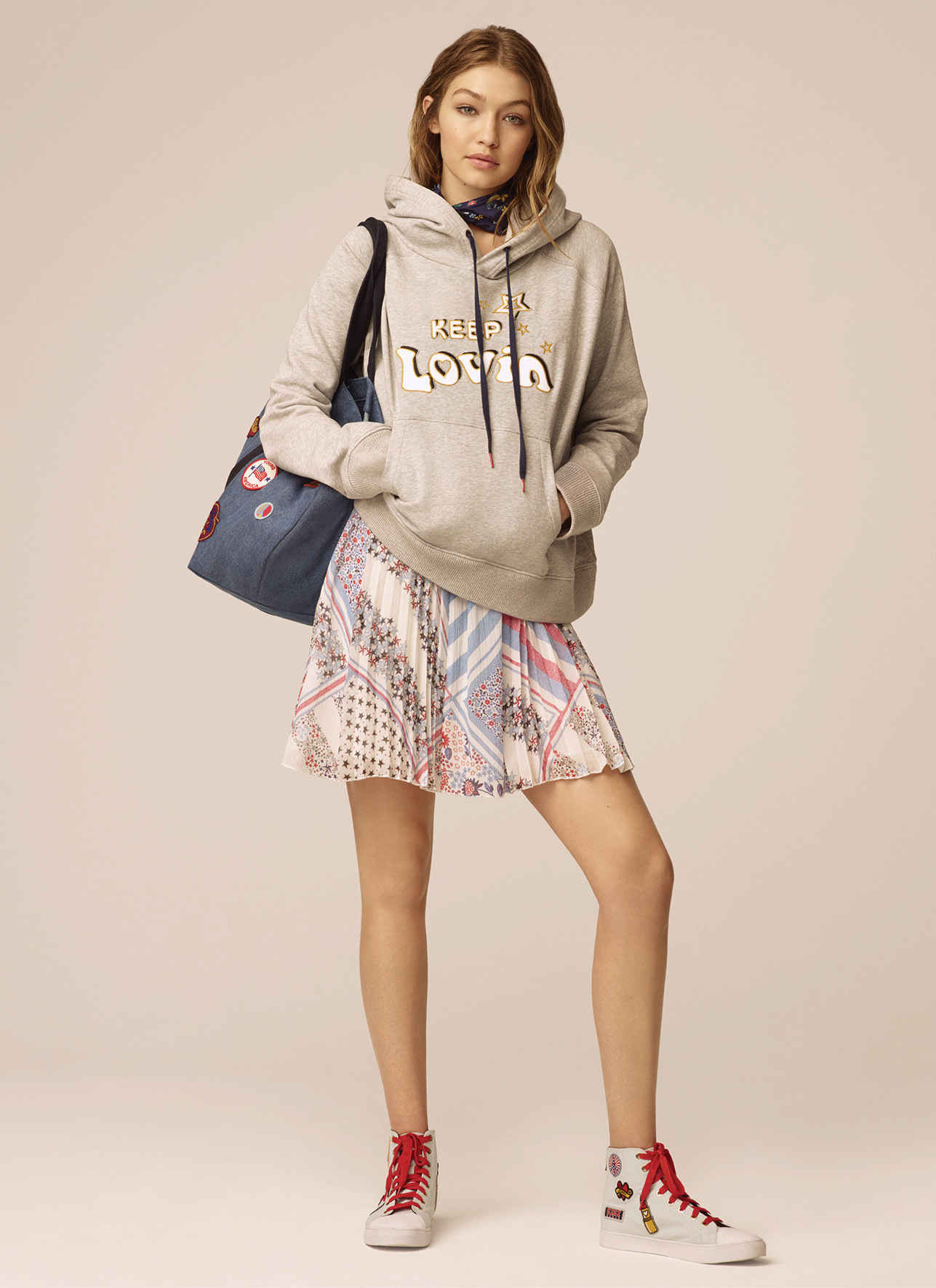 87275b1a4 Every Look From Tommy Hilfiger x Gigi Hadid Spring 2017 Collection ...