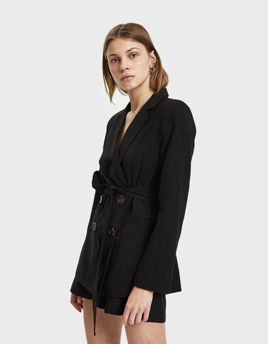 An Un-Boring Black Blazer