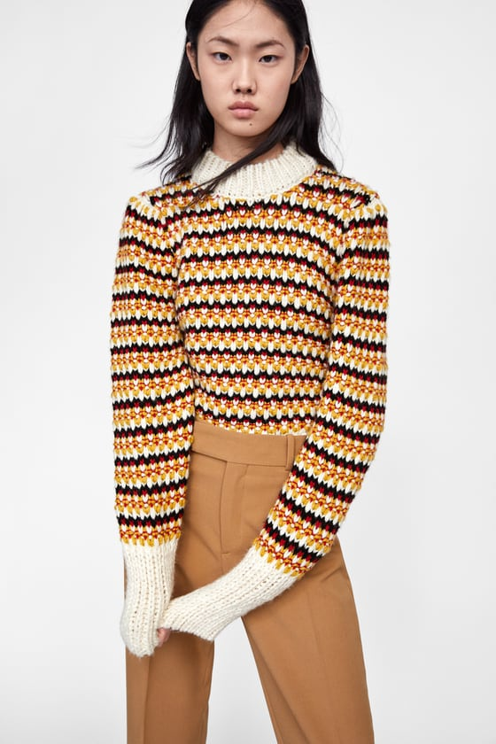 A Puff Sleeve Sweater